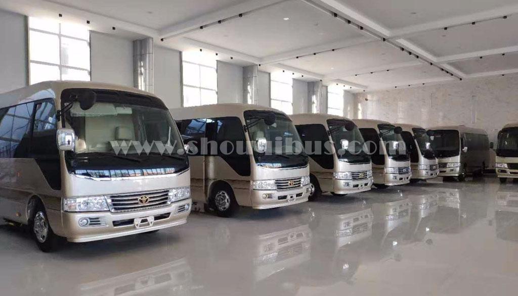 首汽旅游大巴公司喜迎20部崭新旅游大客车