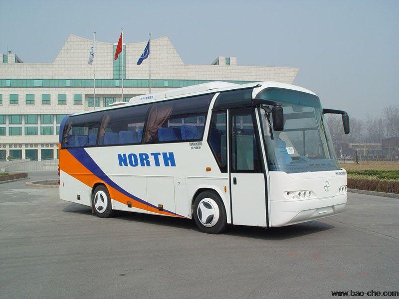北京包车39座中巴推荐-青年尼奥普兰JNP6850