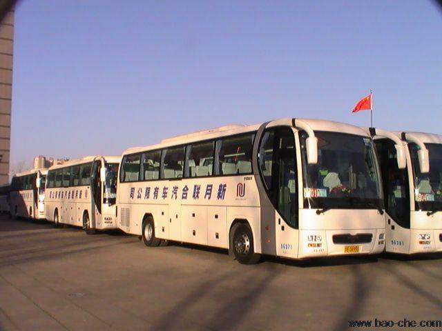北京新月联合大巴租赁车型-52座安凯包车价格