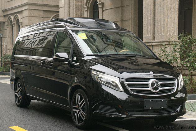 北京新月联合商务车租赁-7座豪华版奔驰V260包车一天多少钱?