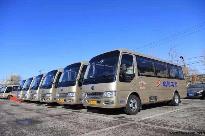 北汽大巴车租赁-11-23座宇通T7包车一天多少钱?