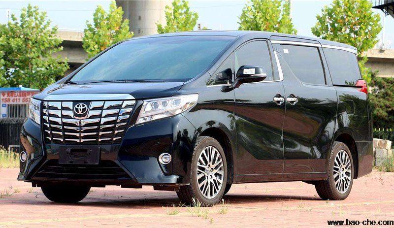 北京新月联合7座丰田埃尔法豪华版商务车包车价格