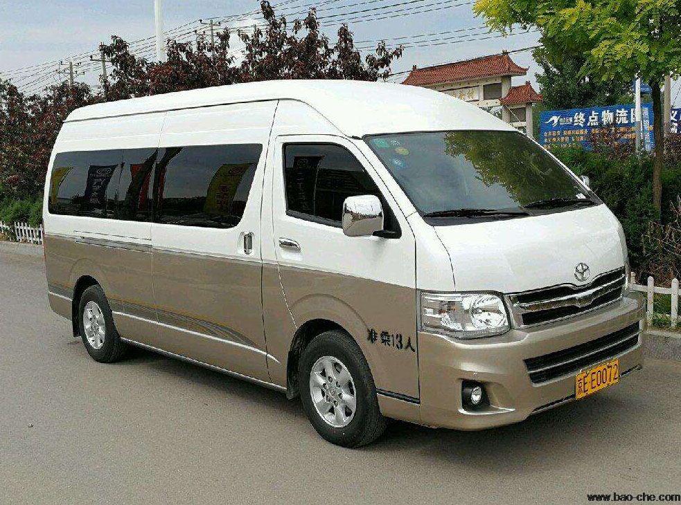 北京新月联合18座丰田海狮中巴包车价格