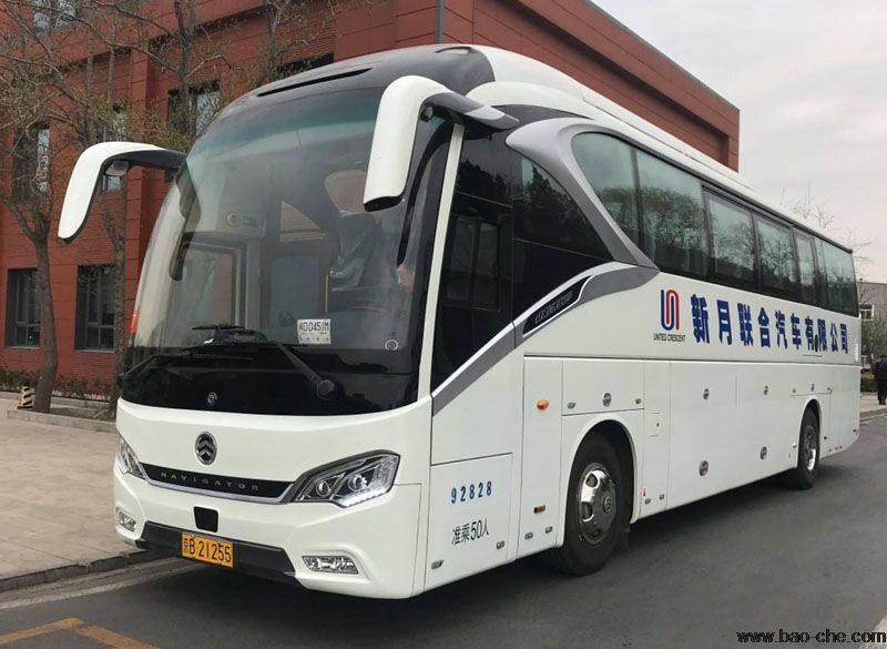 北京新月联合51座旅游大巴包车价格