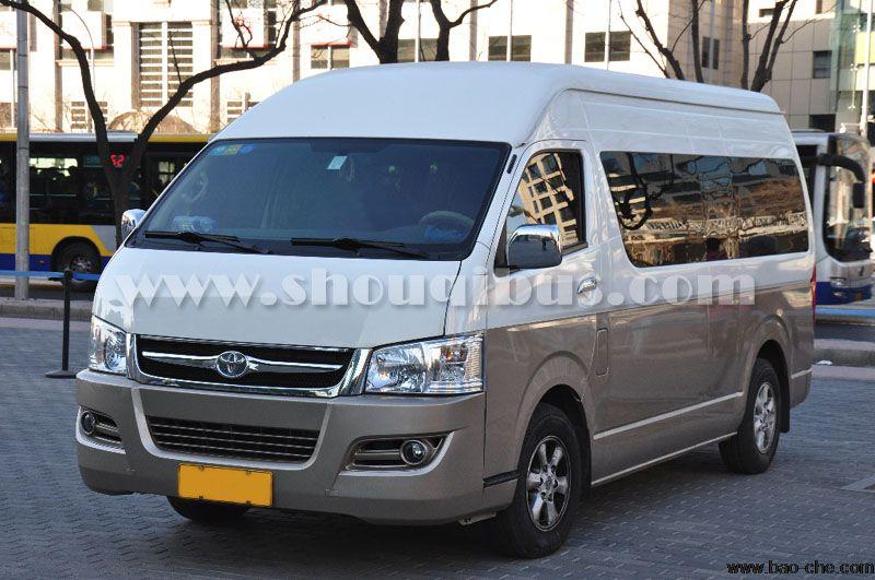 北京首汽丰田海狮(12座)租车一天多少钱?