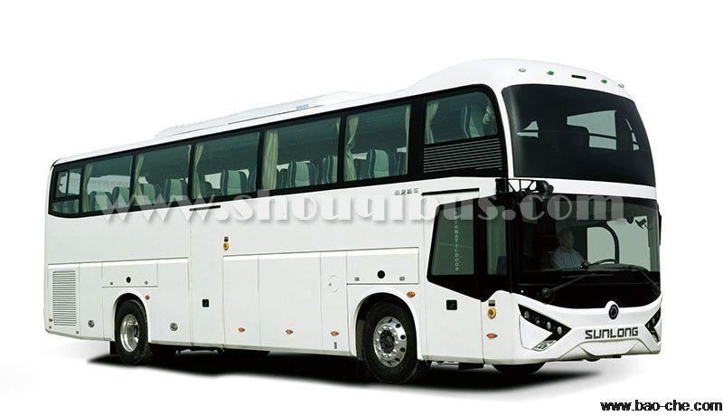 北京海淀53座申龙SLK6119大巴车租赁:包天1600元