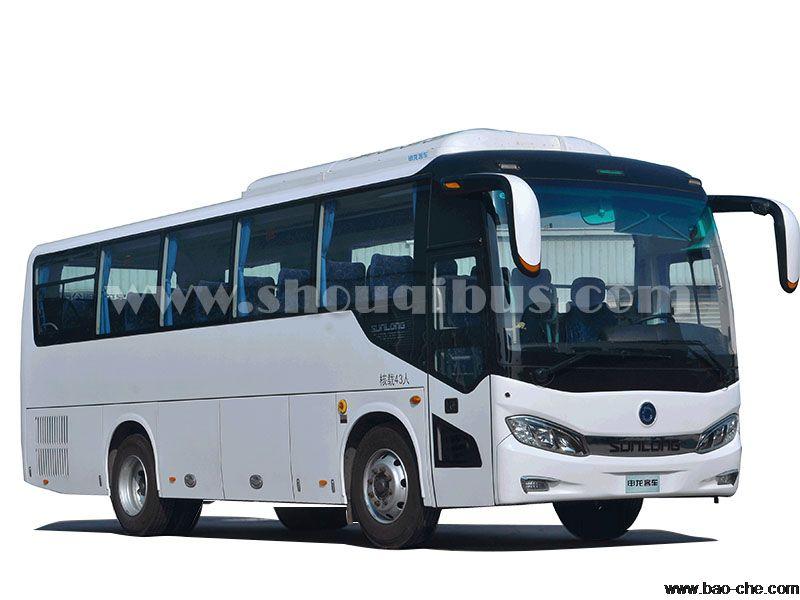 北京海淀43座申龙SLK6903大巴车租赁:包天1550元