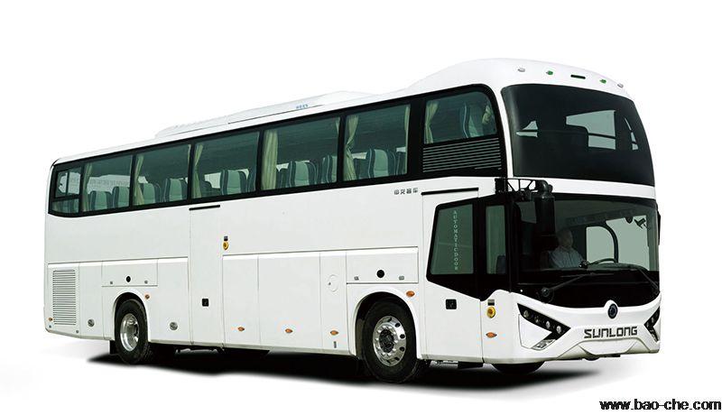 北京海淀52座申龙SLK6129大客车出租:日租1680元