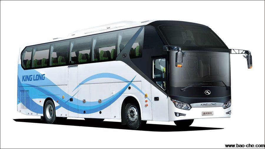 北京新月联合52+1座旅游巴士出租:金龙新5系XMQ6125HY