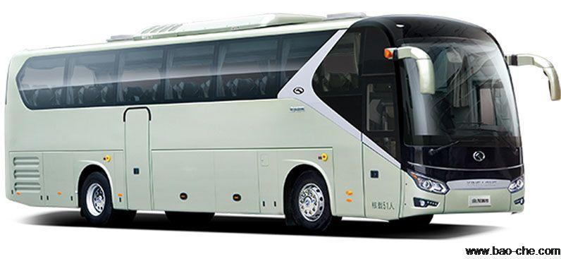 北京新月联合50座大轿车租赁:金龙XMQ6125BY