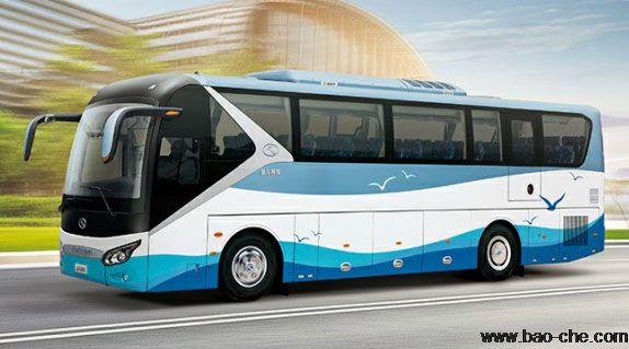 北京新月联合48+1座大巴租车价格:金龙XMQ6125QY