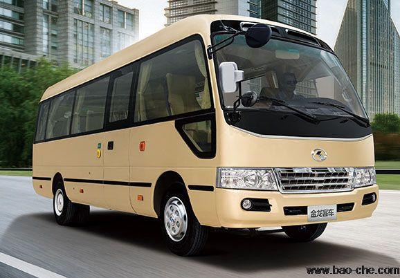 北京新月联合18+1座小巴租赁价格:金龙XMQ6606AY