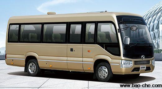 北京新月联合23座中巴租赁价格:金龙XMQ6706DY