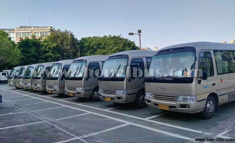 北京租中巴一天多少钱?中巴租车费用怎么算