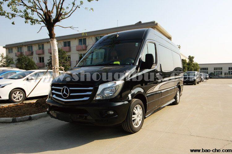 北京7座豪华版奔驰凯撒SPRINTER商务舱出租:3250元/8小时