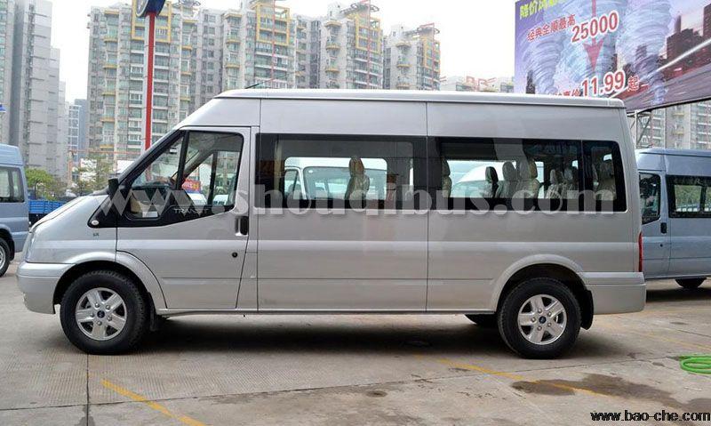 北京17座福特全顺小巴车租车一天价格:900元/天