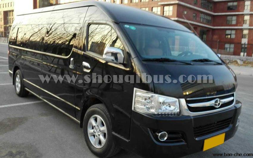 北京首汽丰田海狮11座旅游豪华小巴车租赁价格