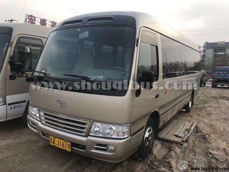 北京市内租19座豪华考斯特带司机接送一天多少钱?