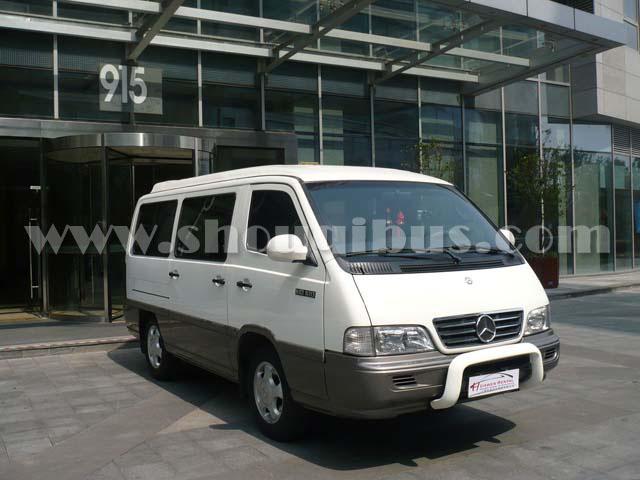 北京13座奔驰MB100租赁,奔驰MB100出租