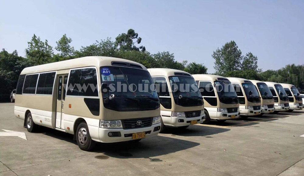 北京会议租车可以选择哪几种车型