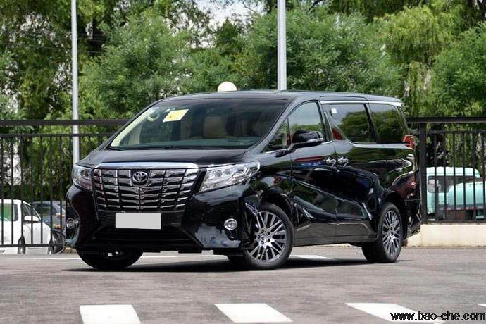 丰田埃尔法7座商务车,明星影视接待,高端商务租车