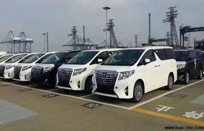 进口7座丰田埃尔法引领商务租车新热潮
