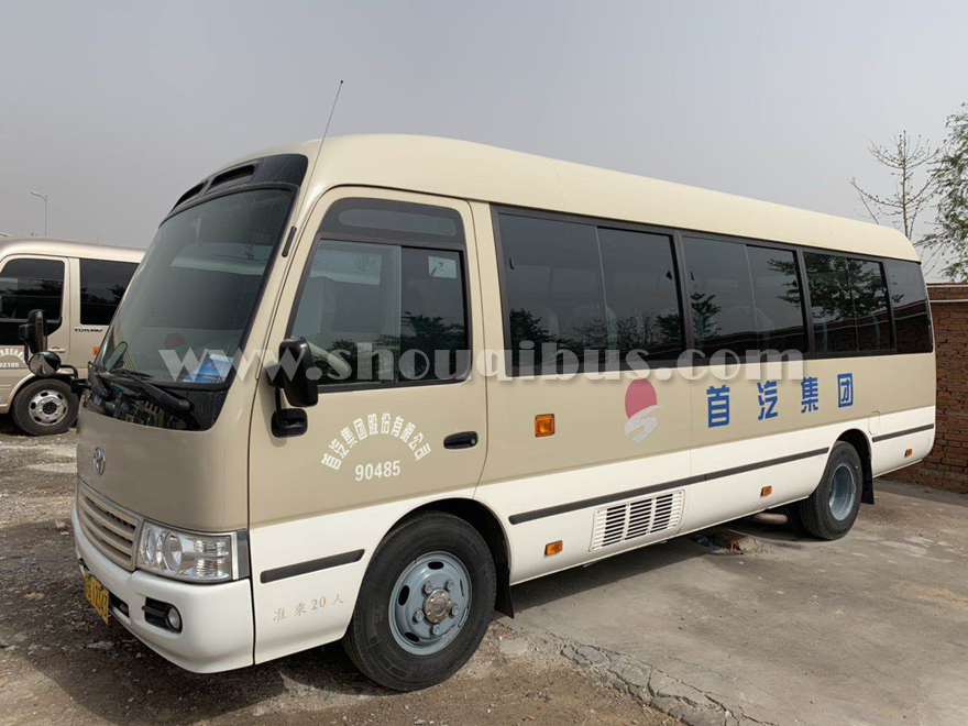 北京中巴租车考斯特 25座丰田考斯特租车