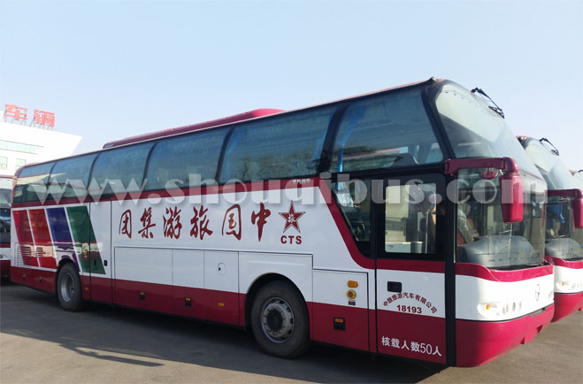 中旅北方大巴车