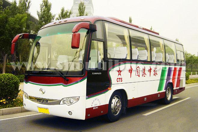 36座中旅金龙大巴车